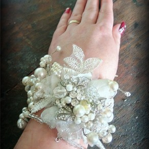 Bridal wedding cuff uk